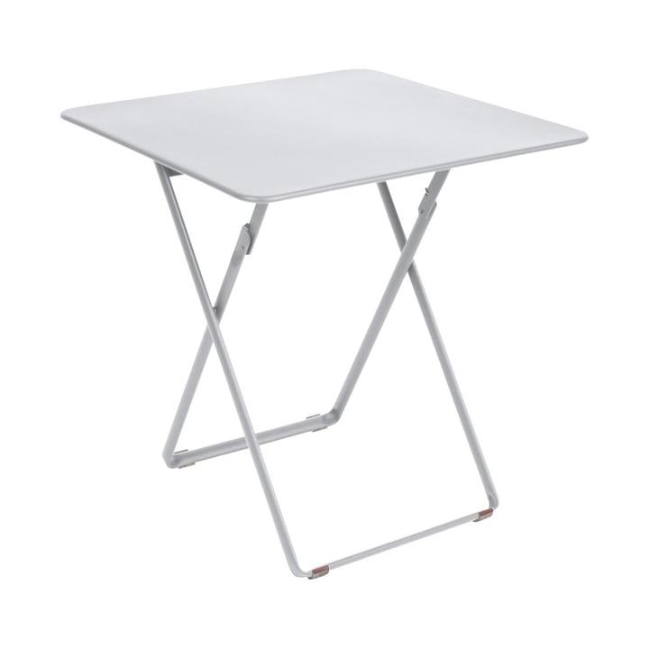 Table Plein Air par Fermob en blanc coton