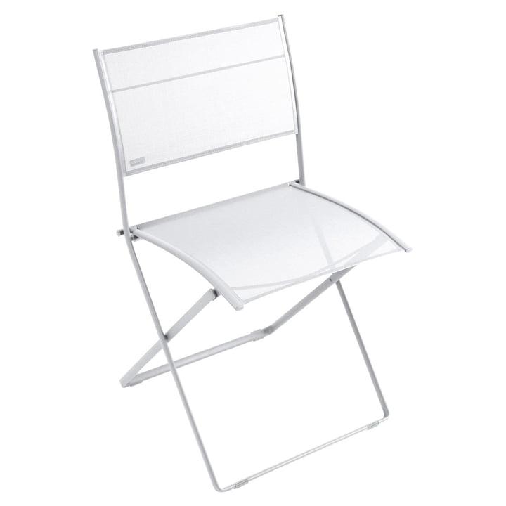 Chaise Plein Air par Fermob en blanc coton