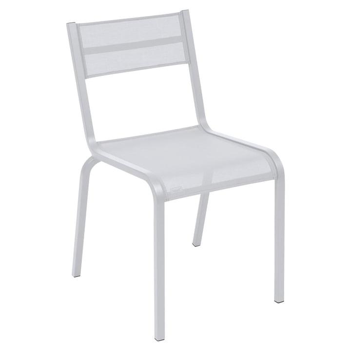 La chaise Oléron par Fermob en blanc coton