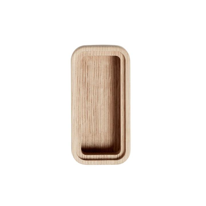 Boîte Create Me 6 x 12 cm 1 rayon d'Andersen Furniture en bois de chêne