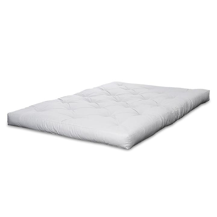 Matelas de Karup Design futon avec housse blanche