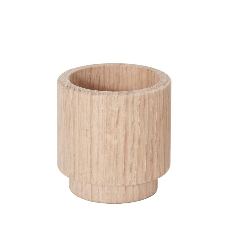 Support pour bougies chauffe-plat Create Me 5 cm d'Andersen Furniture en bois de chêne