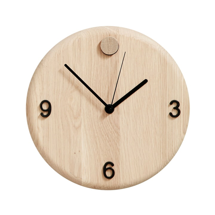 Horloge murale Wood Time d'Andersen Furniture