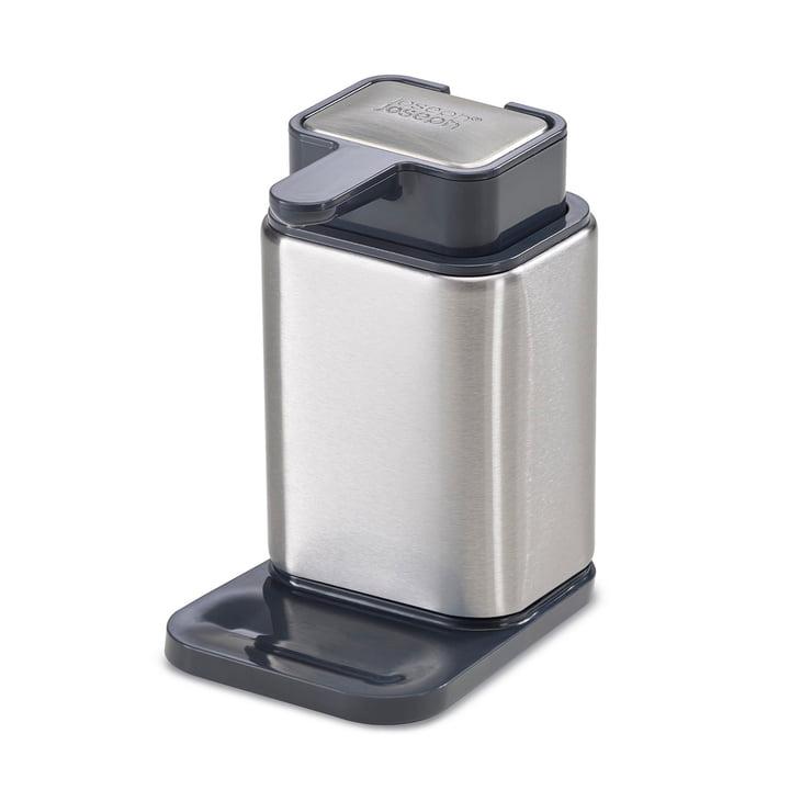 Surface Distributeur de savon et savon en acier inoxydable de Joseph Joseph