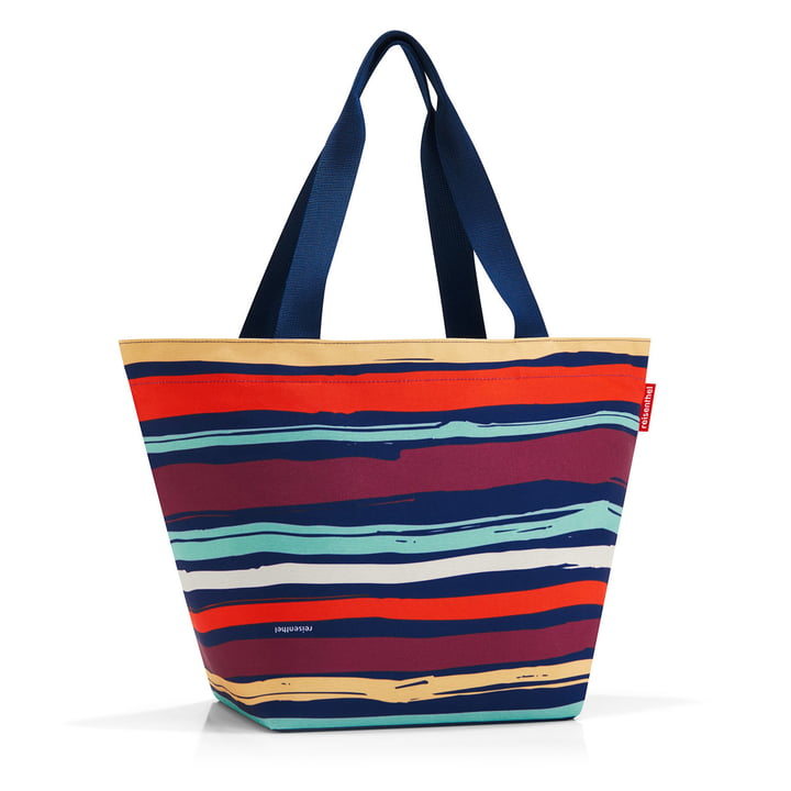 Sac shopper M de reisenthel en artist stripes