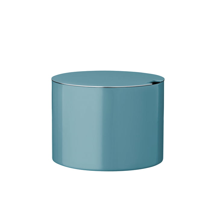 Stelton - Cylinda-Line sugar bowl, dusty teal (50th anniversary edition)