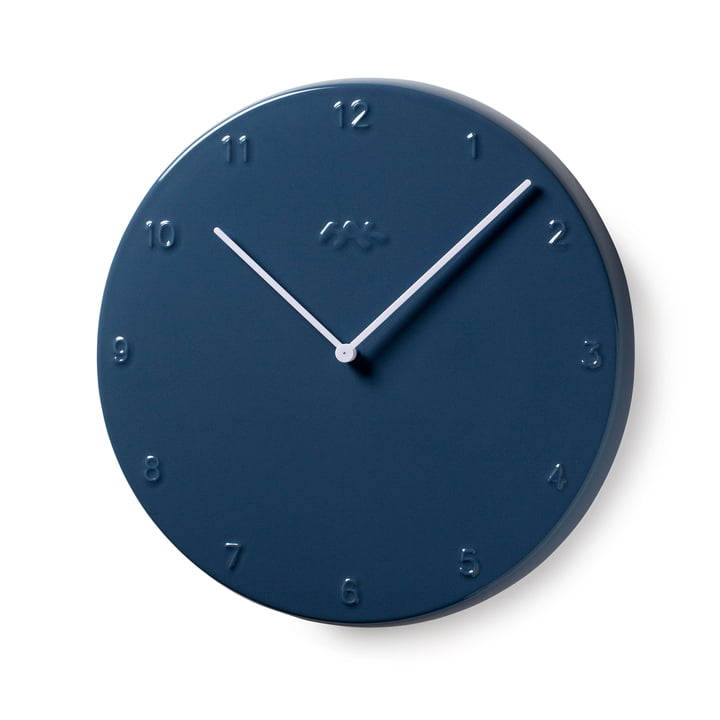 Horloge Ora 30 cm by Kähler Design en gris pigeon