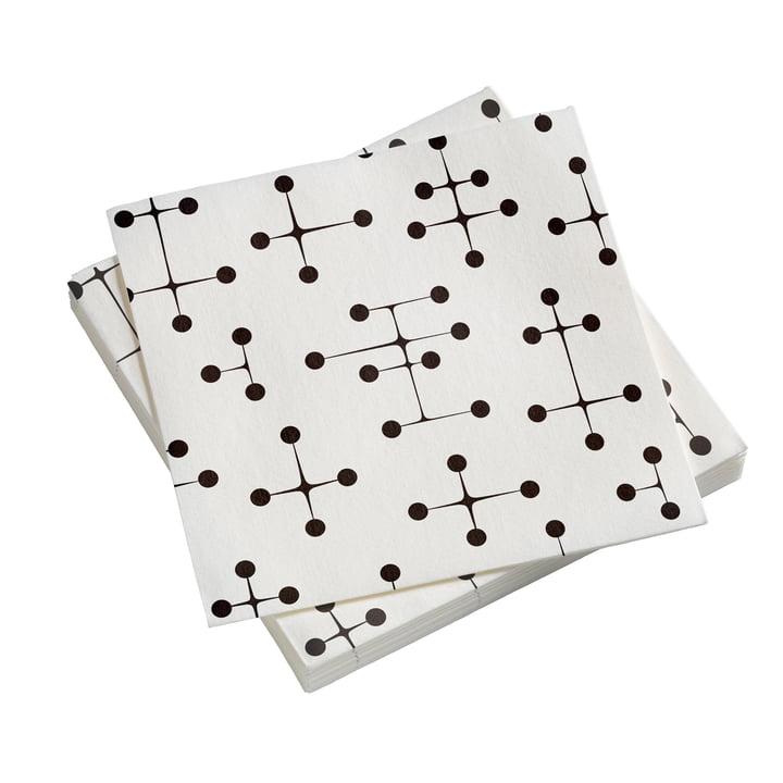 Serviettes de table en papier Large Dot Pattern light by Vitra
