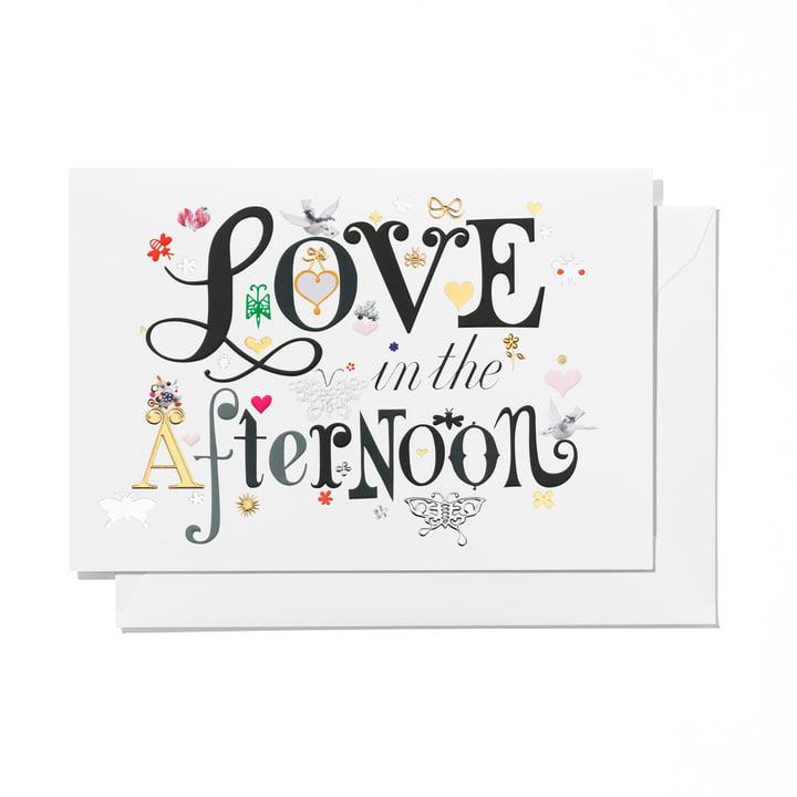 Carte de voeux Love l'après-midi par Vitra