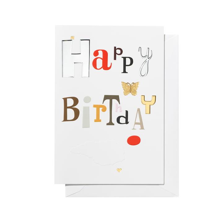 Carte de voeux Joyeux anniversaire par Vitra