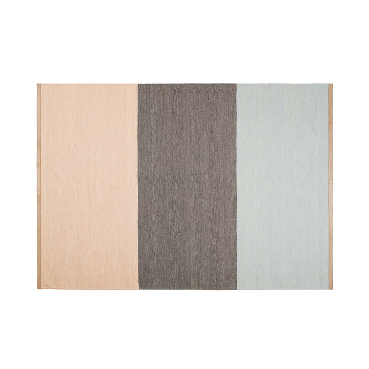 Design House Stockholm - Tapis Fields 170x240cm, rose/marron/bleu