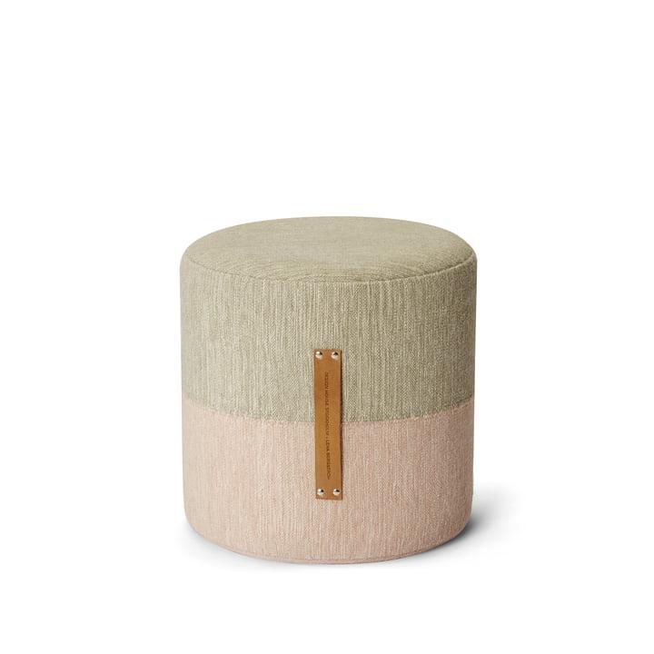 Design House Stockholm - Pouf Fields, rose / beige