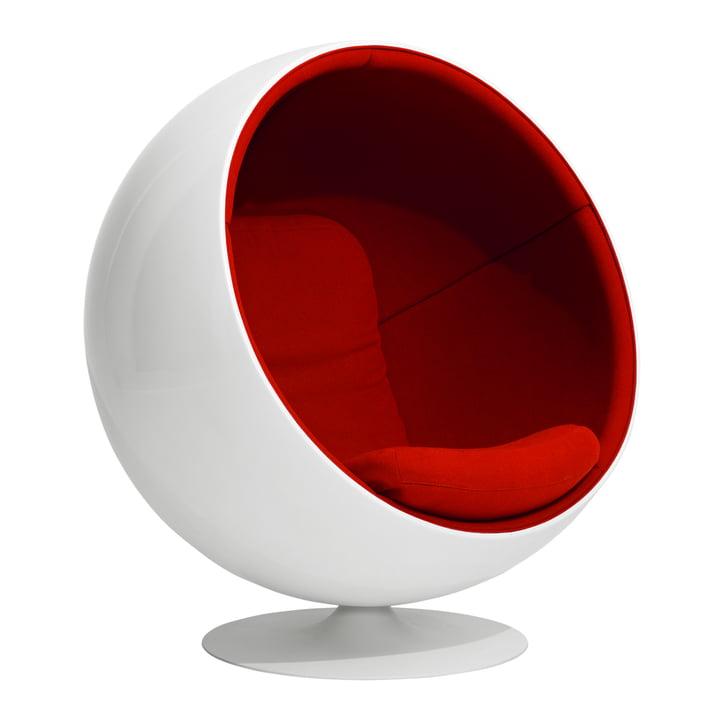 Ball Chair par Eero Aarnio Originals en rouge (Tonus 4/130)