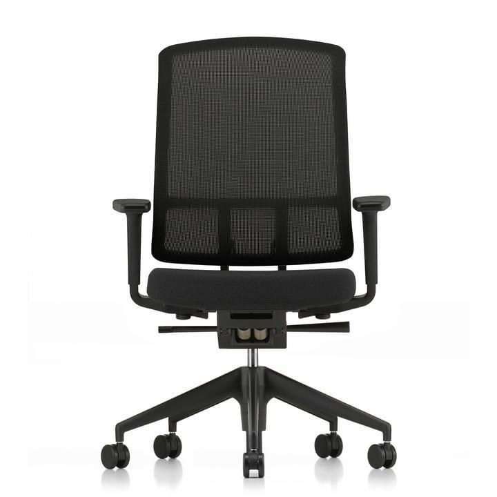 Chaise AM de Vitra avec accoudoirs 2D