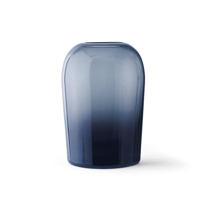 Vase Troll L, bleu minuit de Menu