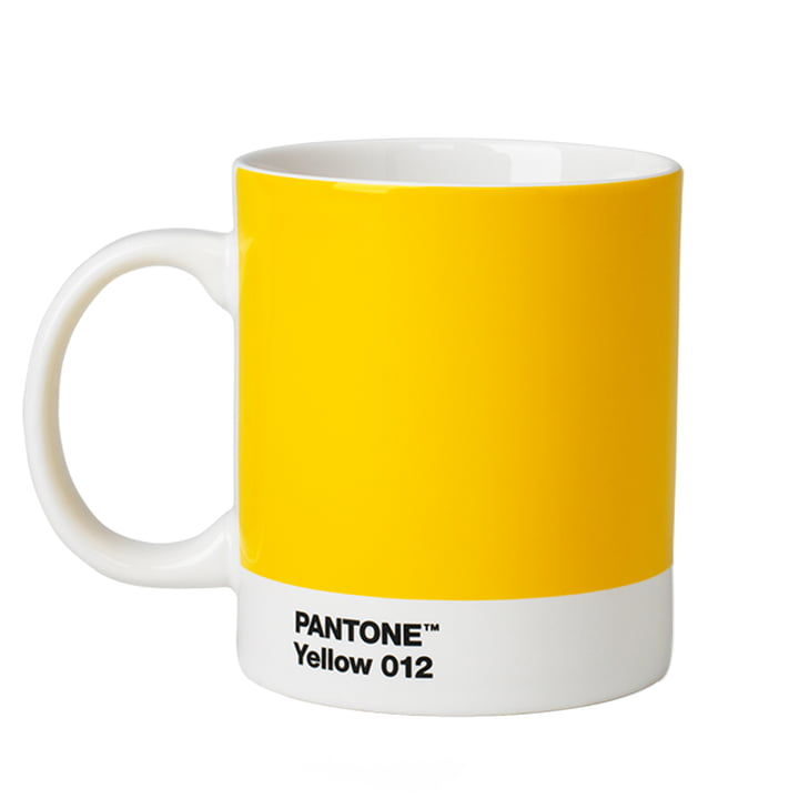 Pantone Universe - Mug, jaune (012)