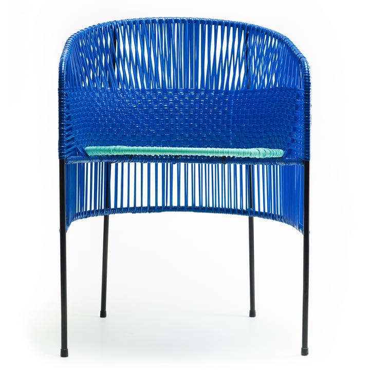ames - caribe Dining Chair, bleu / mint / noir