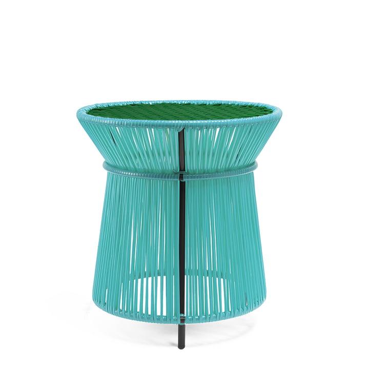 ames - Table haute caribe, menthe / vert / noir