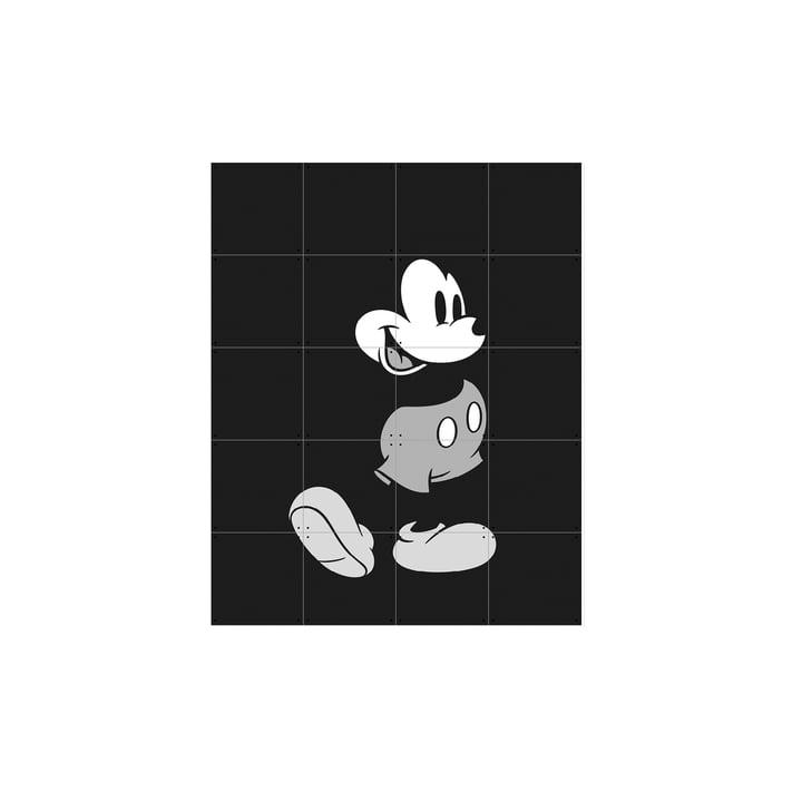 Mickey Mouse (noir et blanc) d'IXXI en 80x100cm