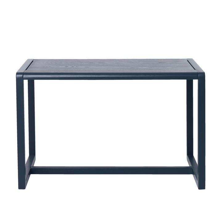 Petite table d'architecte de ferm Living in dark blue