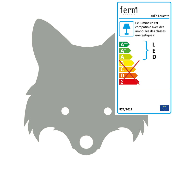 ferm Living - Fox Lamp