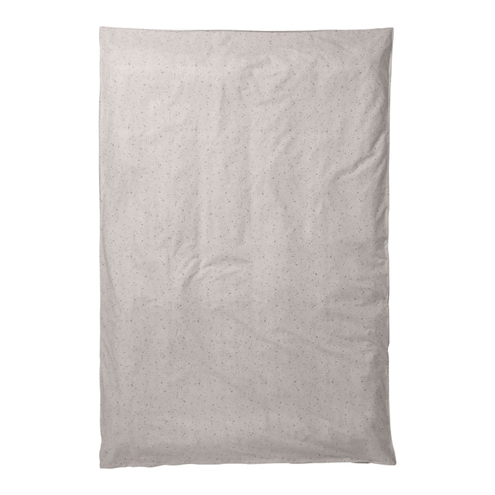 Housse de couette Hush 140 x 200 cm par ferm living en Milkyway Cream