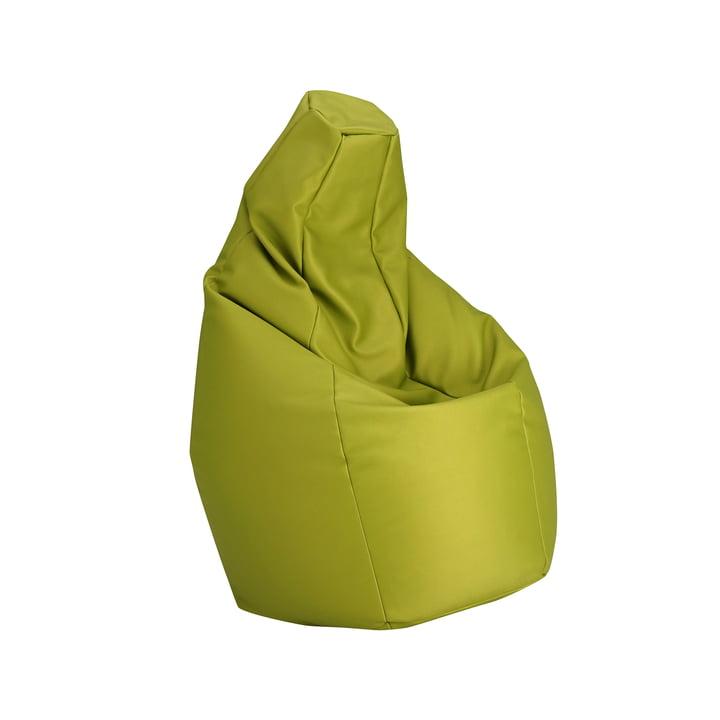 Zanotta - Pouf Sacco Medium, vert VIP