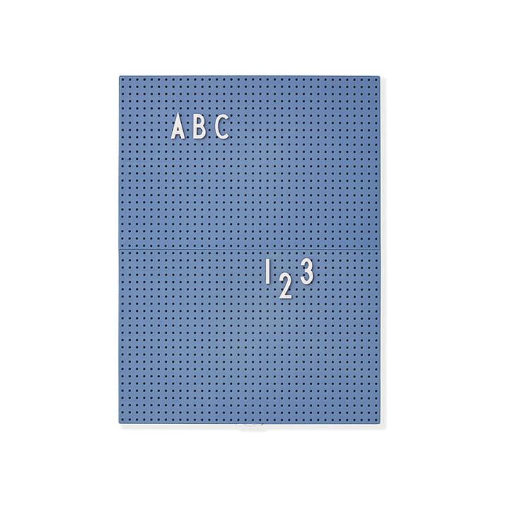 Message Board A4 par Design Letters en bleu