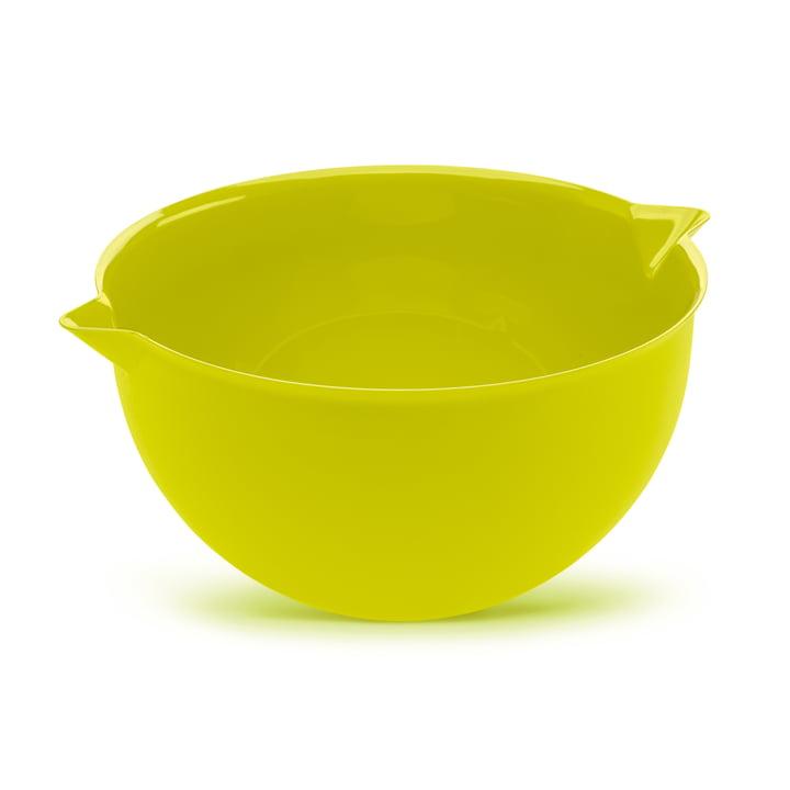 Palsby Bol à mélanger de Koziol en vert moutarde