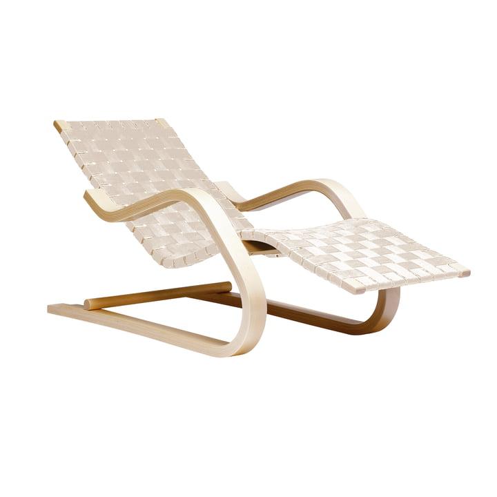 Chaise longue 43 d'Artek en bouleau/naturel