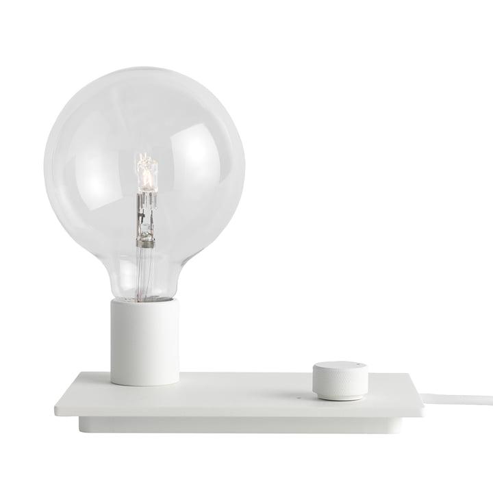 La lampe de table Control de Muuto en blanc
