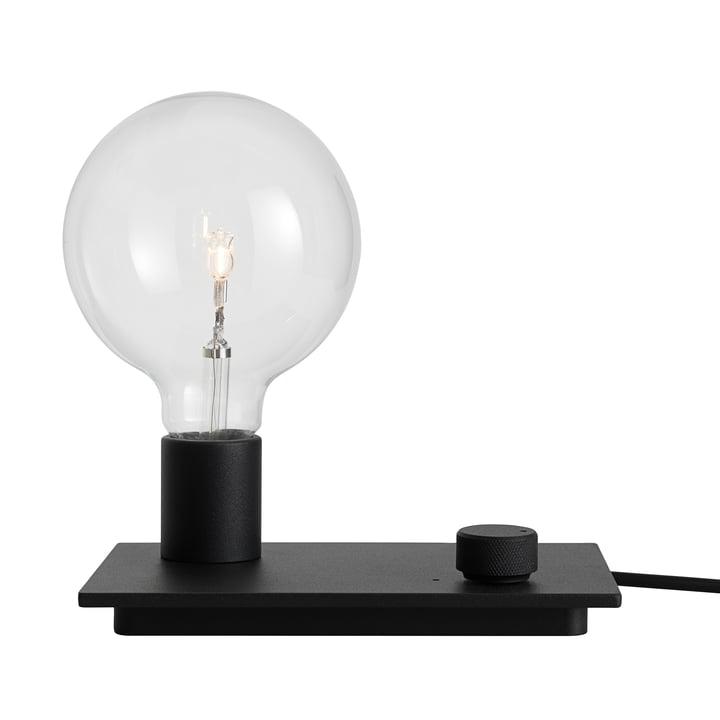 La lampe de table Control de Muuto en noir