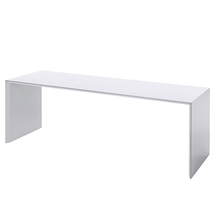 Banc Add On 120 cm par Schönbuch en blanc neige (RAL 9016)