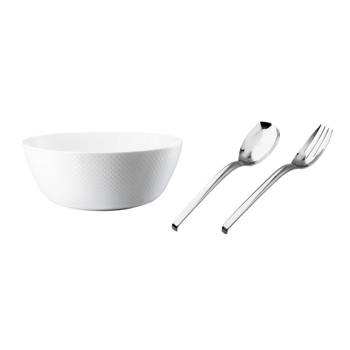 Set à salade «Enjoy your life» de Rosenthal