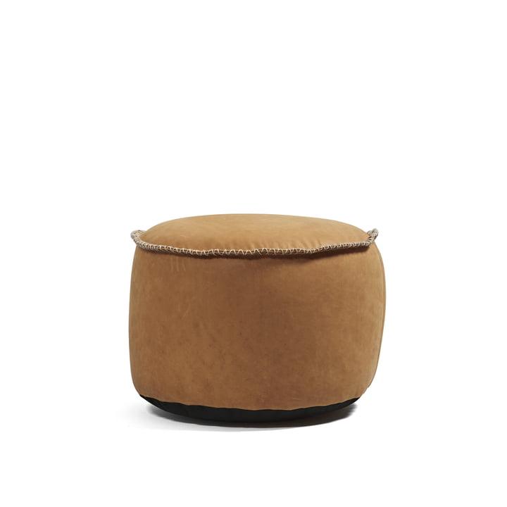 Retro it Dunes Drum Indoor de Sack it en cuir cognac
