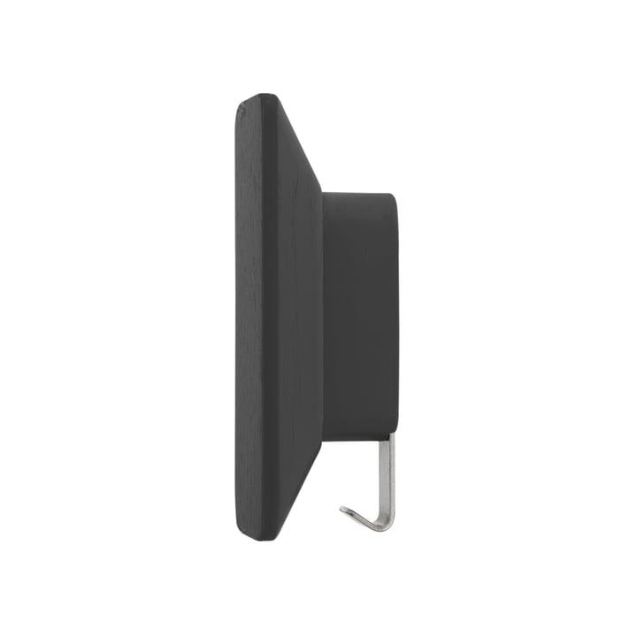 Patère 0380 de Schönbuch en noir ardoise