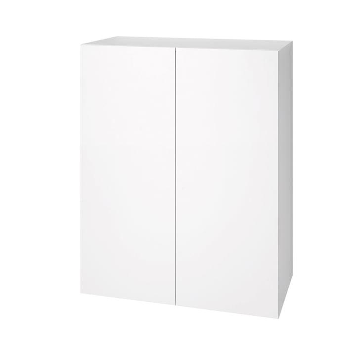 Commode Urban 1071 (80cm/2portes) de Schönbuch en blanc neige (RAL 9016)