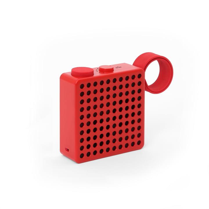 The Monkey - radio / haut-parleur de Palomar en rouge