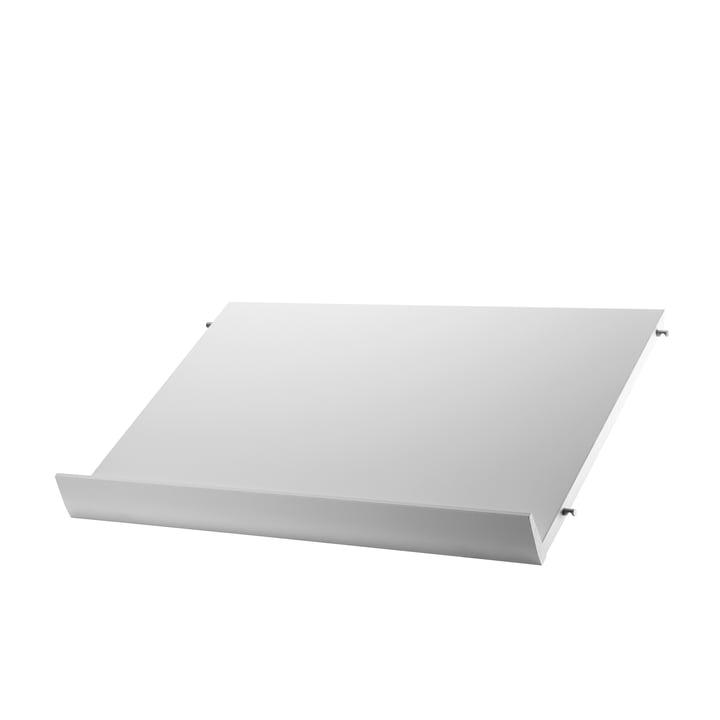 Porte-revues 58 x 30 cm de String en blanc
