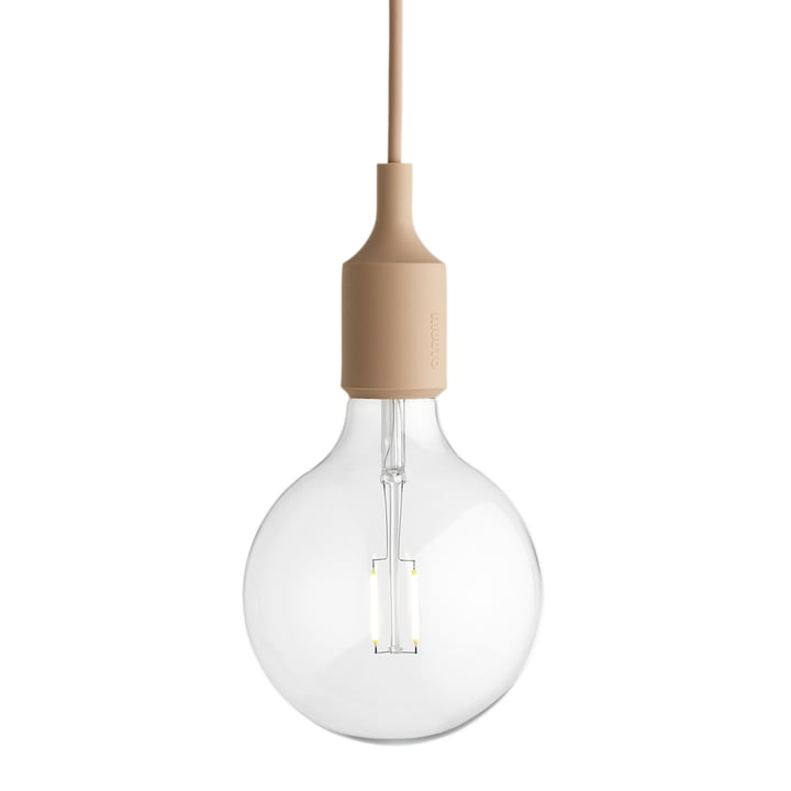 Muuto - Suspension lumineuse E27-Socket Pendant Lamp LED, nude