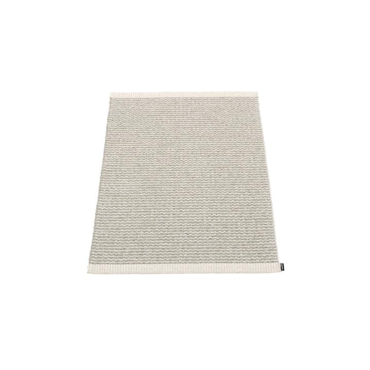 Mono Tapis, 60 x 85 cm de Pappelina en Gris Fossile / Gris Chaud
