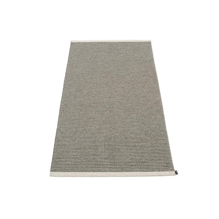 Mono tapis, 60 x 150 cm de Pappelina en charbon de bois / gris chaud