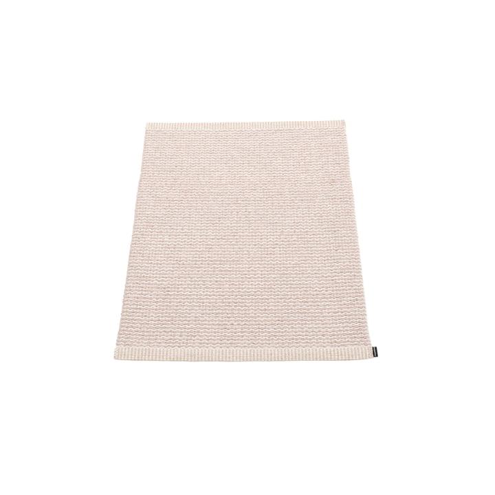 Mono tapis 60 x 85 cm de Pappelina en Pale Rose / Ballet