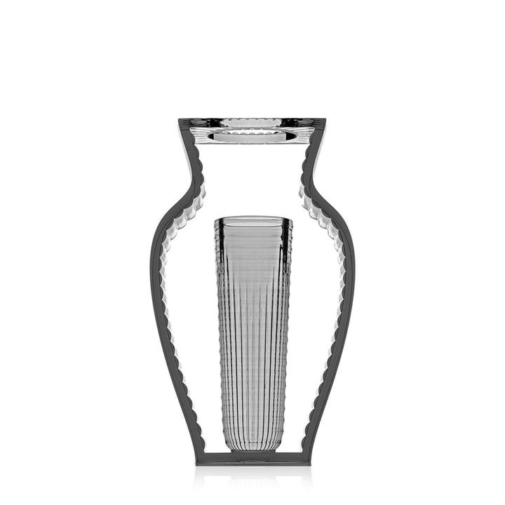 Vase I Shine de Kartell en fumée