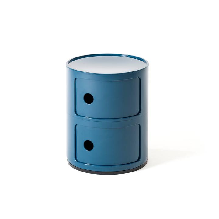 Componibili 4966 de Kartell en bleu