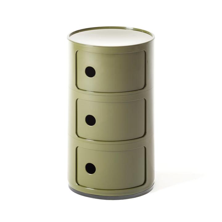 Componibili 4967 de Kartell en vert