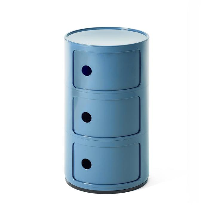 Componibili 4967 de Kartell en bleu