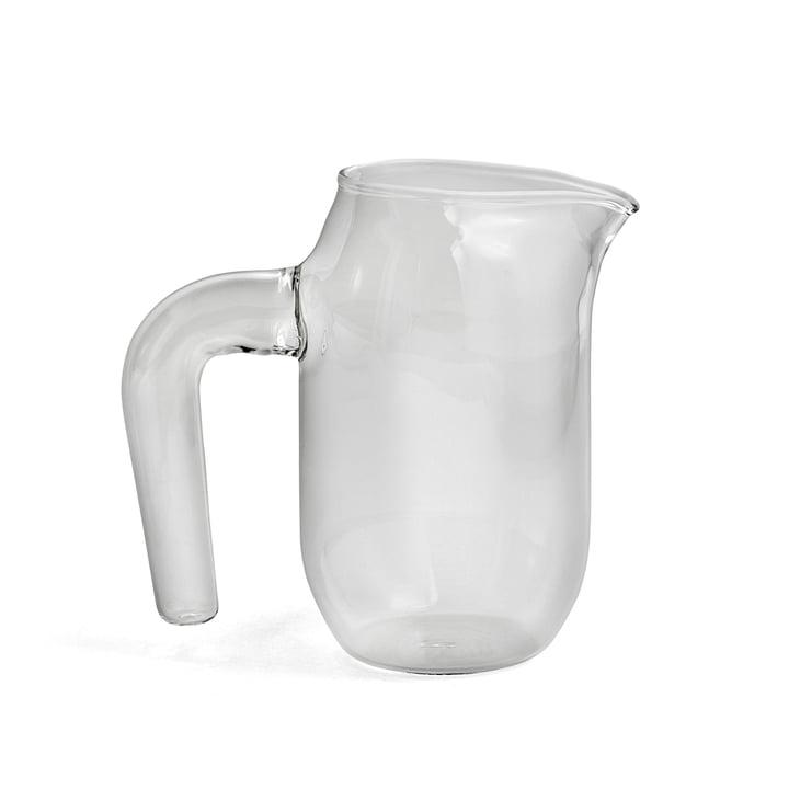 Pichet de verre small H 16,5 cm par Hay transparent