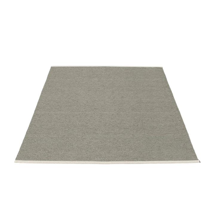 Mono tapis de 140 x 200 cm Pappelina en Charbon de bois / Gris chaud