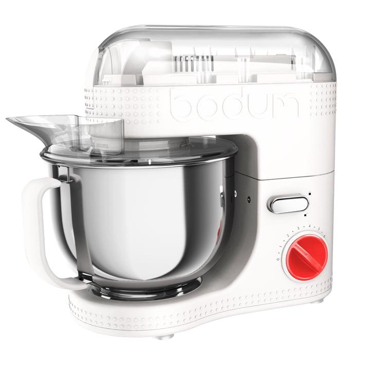 Robot de Cuisine Électrique 4,7l de Bodum en Blanc